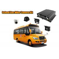 Mobile Monitoring Car DVR Realtime Playback For School Bus Security
