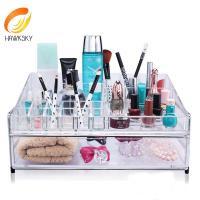 Buy cheap Advantage price Clear acrylic makeup box from wholesalers