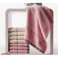 Wholesale Personalized expensive holiday pink cotton face velour towels from china suppliers