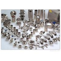 China Food Grade Stainless Steel Pipe Fittings Tee Reducer Elbow Tri Clamp Sanitary Fittings on sale
