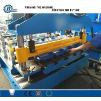 China Steel Plate Roof Panel Metal Forming Machinery Hydraulic Cutting System on sale