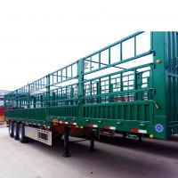Wholesale 3/4 Axles 40ft Side Wall Heavy Duty Semi Trailers / Low Bed Semi Trailer Truck from china suppliers