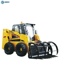 China Operating Capacity 1050kg 85HP Mitsubishi 62kW Engine WS85 Skid Steer Loader on sale
