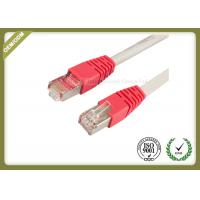 Wholesale 10G / 1000 BASE -T Cat6 Network Patch Cord With Gold Plated Connector from china suppliers