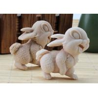 Wholesale OEM / ODM Homemade DIY Soap Mold , Rabbit Shaped Silicone Animal Molds from china suppliers