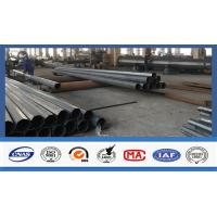 Wholesale Electric Power Transmission Steel Utility Poles Custom Color For 3mm Thickness from china suppliers