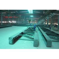 A36 Pre Engineered Industrial Steel Buildings Welded H Shape For Fabric Mills