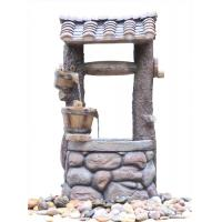 Wholesale Customized Design Outdoor Tiered Water Fountains In Chinese Well Shape   from china suppliers