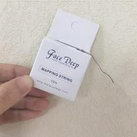 Quality FACE DEEP Pre-inked Mapping String Mapping Thread for Brow Mapping for sale