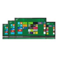 Wholesale 65 Inch Network Interactive Touch Screen Display 360cd / m2 Brightness Support Multi Users from china suppliers