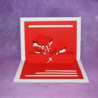China Mother's Day greeting paper card on sale