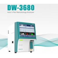 Wholesale 3 Part 3 Diff Clinical Hematology Auto Analyzer , Auto CBC Multi Drug Test Kit DW-3680 from china suppliers