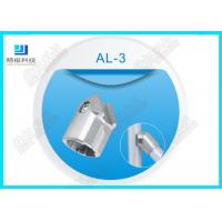 Buy cheap AL-3 Aluminum tube connector die-cast 45 Degree Aluminum pipe joint Aluminum + ADC-12 Material from wholesalers