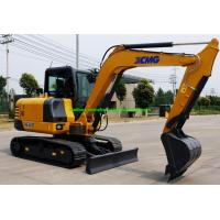 Wholesale XCMG XE60D 6 Tons Mini Crawler Excavator Machine With Hydraulic System from china suppliers