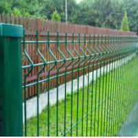 Wholesale High security green pvc coated welded wire mesh/metal fencing from china suppliers