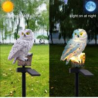 Wholesale Owl Outdoor Solar Post lights Solar Powered LED Garden Lights Animals For Path Lawn Yard Garden from china suppliers