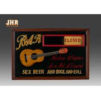 Wholesale Open And Close Signs Special Wooden Wall Plaques For Shops from china suppliers
