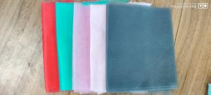 Wholesale colorful nonwoven fabric for face mask pink/green/red/BLACK/GREY from china suppliers