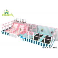 Huge Children Indoor Playground Macaron Theme / Toddler Play Equipment