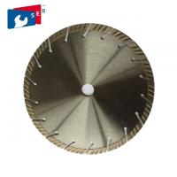 Wholesale Segmented Turbo Saw Blade , Granite Cutting Tools Polishing Or Painted Finishing from china suppliers