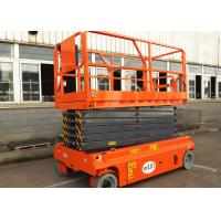 Wholesale 13.7m Self Propelled Scissor Lift Electric Hydraulic Man Lift Platform from china suppliers
