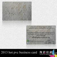 Wholesale Full Color Punched Blank PVC Cards Hologram / Plastic Barcode Membership Cards from china suppliers