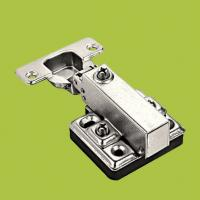 Wholesale hot sell furniture hardware  half-overlay hinges ,components for cabinet from china suppliers