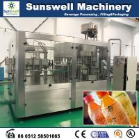Buy cheap Fresh Fruit Juice Hot Filling Machine Automatic For Washing Filling And Capping from wholesalers