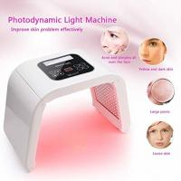 Wholesale 7 Color PDT Photon Therapy Skin Rejuvenation Facial Mask Machine Anti - Aging Lighten Pigmentation from china suppliers