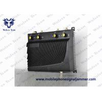Circuit Protection Cell Phone Frequency Jammer , Mobile Phone Jamming Device 40 Meters Range