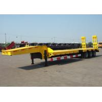 Wholesale 14m-17m Tri Axle Detachable Gooseneck Lowboy Trailers For Long And Heavy Cargos from china suppliers