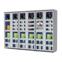 Wholesale 24 Hours Electronic Touch Screen Locker Vending Machines with Coin / Banknote / Card Payment from china suppliers