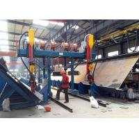 China Gantry Cantilever H Beam Welding  Line  Flange Width CNC Cutting Easy Install on sale