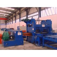 China Stainess Steel Pre Painted Cut To Length Machine Uncoiling Leveling Coil Cutting Machine on sale