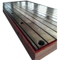 Wholesale cast iron T slot table with coolant tray from china suppliers