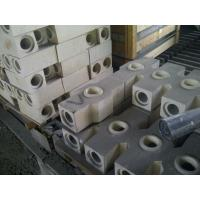 Wholesale Thermal Pouring High Alumina Refractory Brick For Steel Industry , White Color from china suppliers