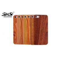 Buy cheap Wood Grain Cell Phone Protective Cases Dustproof with nature color from wholesalers