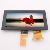 Buy cheap LVDS 500nits LCD Capacitive Touch Panel 1024x600 7 Inch from wholesalers