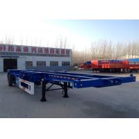 Buy cheap The Longer Life of Three Axle 40ft Skeleton Container Semitrailer / 40T from wholesalers
