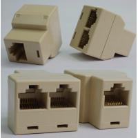 Wholesale RJ45 Cat 5 LAN Ethernet Splitter Connector Adapter from china suppliers