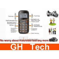 Wholesale SOS Elder / Kids 1200MAh Car GPS Tracker System With 1.7 inch Screen LBS from china suppliers