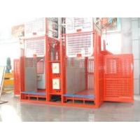 Wholesale Personnel Hoist Construction Site Elevator Painted Mast For Mining from china suppliers