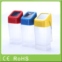 China Hot sell innovative cheap price emergency hanging rechargeable LED solar light wholesale
