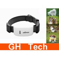 Wholesale GSM GPRS Black Dog GPS Tracker , Quad Band GPS Dog Tracking for Pets from china suppliers