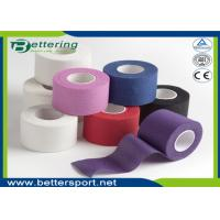 Non elastic Coloured Cotton sports strapping tape athletic gym tape