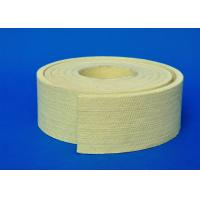 Yellow 8mm Polyester Felt Fabric High Temp Kevlar Pad for Cooling Bed