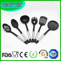Wholesale BPA free transparent silicone non-stick kitchen cooking utensils spatula tools set from china suppliers