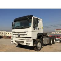 Wholesale White Heavy Duty Dump Truck 6X4 Sinotruck HOWO Tractor Head Trailer from china suppliers