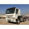 Buy cheap White Heavy Duty Dump Truck 6X4 Sinotruck HOWO Tractor Head Trailer from wholesalers
