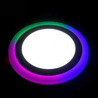 Wholesale RGB Panel light both for Round and Square outlook with Remote controller from china suppliers